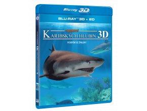 Tajemství karibských hlubin (Blu-ray 3D + 2D)