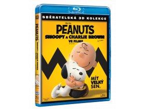 Peanuts: Snoopy a Charlie Brown ve filmu (Blu-ray 3D + Blu-ray 2D)