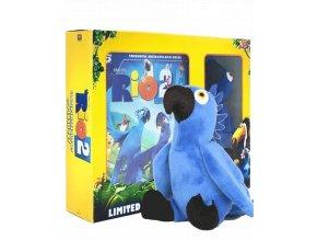 Rio 2 (Blu-ray 3D + Blu-ray 2D, edice s hračkou)