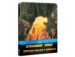 Jumanji: Vítejte v džungli (Blu-ray, Int. Steelbook)