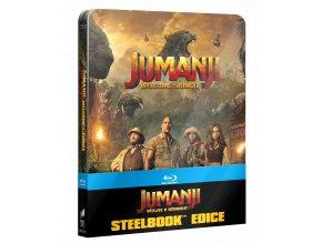 Jumanji: Vítejte v džungli (Blu-ray, Steelbook US)