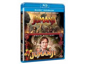 Jumanji + Jumanji: Vítejte v džungli (2x Blu-ray)