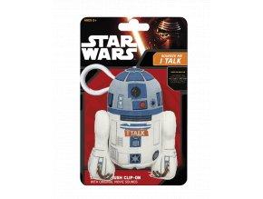 Mluvící klíčenka Star Wars: R2-D2
