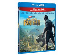 Black Panther (Blu-ray 3D + Blu-ray 2D)