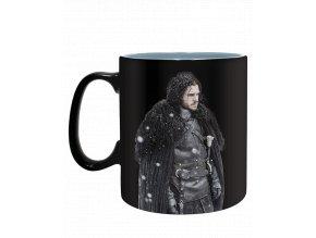 Měnící se hrnek Game of Thrones: Zima je tady (460 ml)