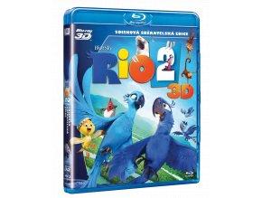 Rio 2 (Blu-ray 3D + Blu-ray 2D)
