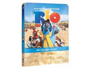 Rio (Blu-ray 3D + Blu-ray 2D, Steelbook)