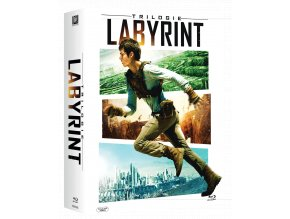 Labyrint: Trilogie (Kolekce 1-3, 3x Blu-ray)