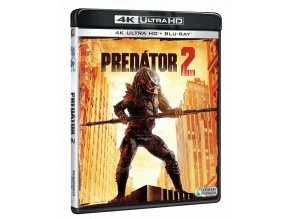 Predátor 2 (4k Ultra HD Blu-ray + Blu-ray)