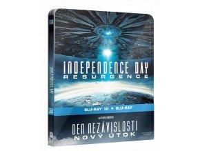 Den nezávislosti: Nový útok (Blu-ray, Steelbook)