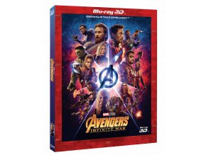 Avengers: Infinity War (Blu-ray 3D + Blu-ray 2D)