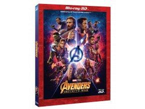 Avengers: Infinity War (Blu-ray 3D + Blu-ray 2D) - rukávek
