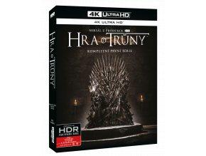 Hra o trůny - 1.sezóna (4x 4k Ultra HD Blu-ray)