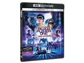 Ready Player One: Hra začíná (4k Ultra HD Blu-ray + Blu-ray)