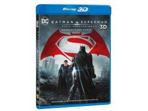 Batman vs. Superman: Úsvit spravedlnosti (Prodloužená verze 2D, kinoverze Blu-ray 3D)