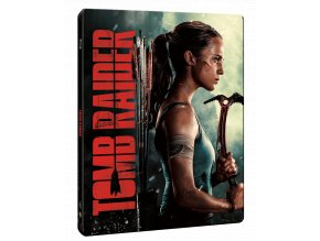 Tomb Raider (2018, Blu-ray, Steelbook)