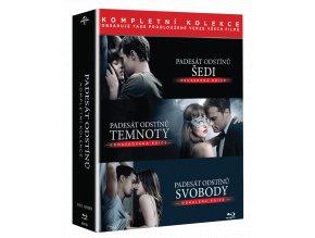 Padesát odstínů (Kolekce 1-3, 3x Blu-ray)
