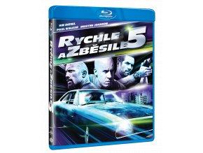Rychle a zběsile 5 (Blu-ray)