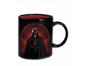 Měnící se hrnek Star Wars: Hvězda smrti a Darth Vader (300 ml)