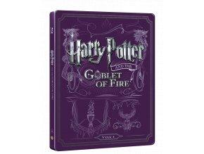Harry Potter a Ohnivý pohár  (Steelbook)