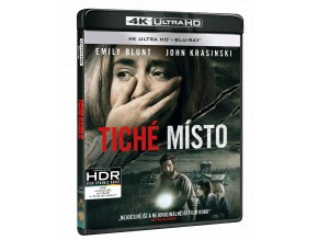 Tiché místo (4k Ultra HD Blu-ray + Blu-ray)