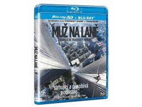 Muž na laně (Blu-ray 3D + Blu-ray 2D)
