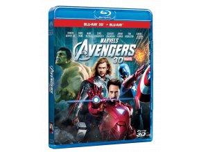 Avengers (Blu-ray 3D + Blu-ray 2D)