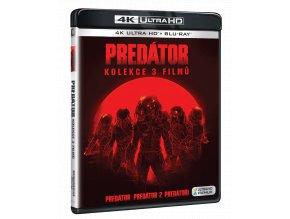 Predátor 1-3 (kolekce 3x 4k Ultra HD Blu-ray + 3x Blu-ray)