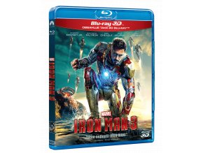 Iron Man 3 (Blu-ray 3D + Blu-ray 2D)