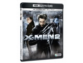 X-Men 2 (4k Ultra HD Blu-ray + Blu-ray)