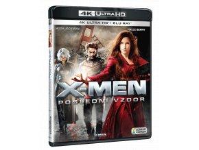 X-Men: Poslední vzdor (4k Ultra HD Blu-ray + Blu-ray)