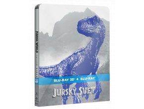 Jurský svět: Zánik říše (Blu-ray 3D + Blu-ray 2D, Steelbook)