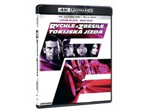 Rychle a zběsile: Tokijská jízda (4k Ultra HD Blu-ray + Blu-ray)