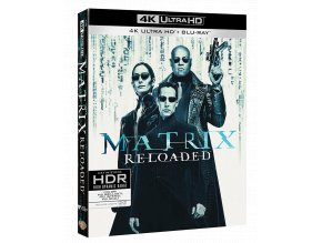 Matrix Reloaded (4k Ultra HD Blu-ray + 2x Blu-ray)