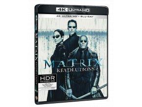 Matrix Revolutions (4k Ultra HD Blu-ray + 2x Blu-ray)