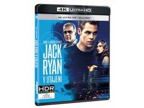 Jack Ryan: V utajení (4k Ultra HD Blu-ray + Blu-ray)