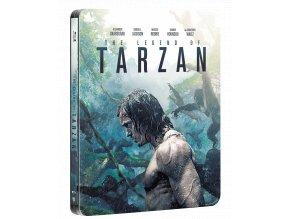 Legenda o Tarzanovi  (Steelbook, 3D)