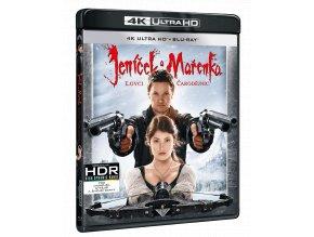 Jeníček a Mařenka: Lovci čarodějnic (4k Ultra HD Blu-ray + Blu-ray)