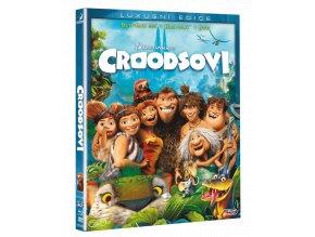 Croodsovi (Blu-ray 3D + Blu-ray 2D + DVD)