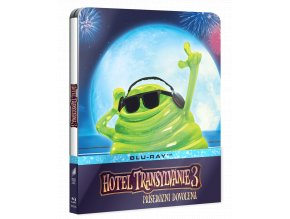 Hotel Transylvánie 3: Příšerózní dovolená (Blu-ray, Steelbook svítící ve tmě)