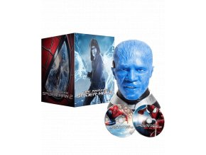 Amazing Spider-Man 2 (Blu-ray 3D + Blu-ray 2D, Sběratelská soška)