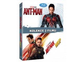 Ant Man 1 a 2 (Blu-ray kolekce)