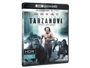 Legenda o Tarzanovi (Ultra HD Blu-ray + Blu-ray)