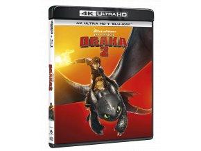 Jak vycvičit draka 2 (4k Ultra HD Blu-ray + Blu-ray)