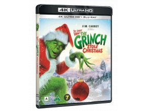 Grinch (4k Ultra HD Blu-ray + Blu-ray, CZ pouze na UHD)