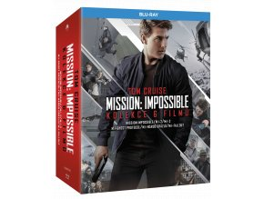 Mission: Impossible (Kolekce 1-6, 6x Blu-ray)