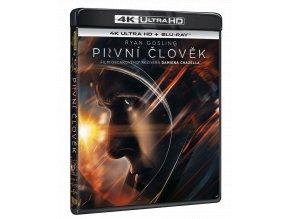 První člověk (4k Ultra HD Blu-ray + Blu-ray)
