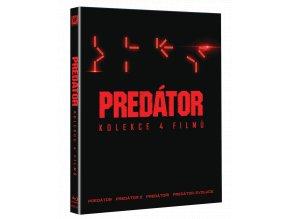 Predátor 1-4 (kolekce, 4x Blu-ray)