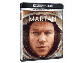 Marťan (4k Ultra HD Blu-ray + Blu-ray)
