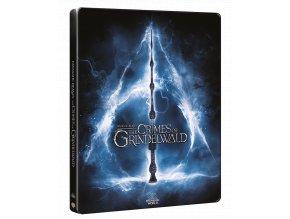 Fantastická zvířata: Grindelwaldovy zločiny (Blu-ray 3D + Blu-ray 2D, Steelbook)